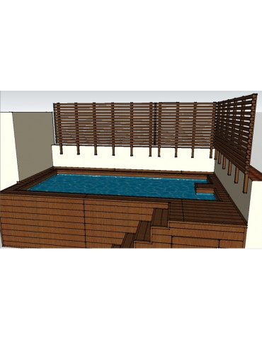 Valla de piscina (Azuaga)